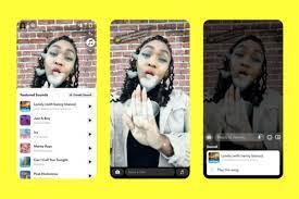 Snapchat folgt TikTok, indem es Musik zu Snaps hinzufügt