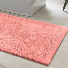 rust colored bath rugs excellent signature c rug coastal and regarding