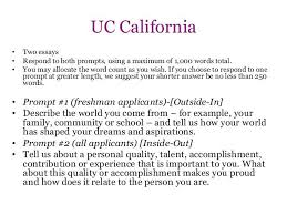 uc example essays the uc essays tips  uc