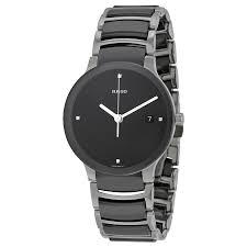 rado centrix black ceramic mens watch r30934712 zoom rado rado centrix black ceramic mens watch r30934712