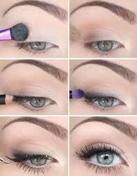 light color wing eye makeup tutorial
