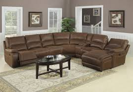 sofas decor ideas comes with dark brown cushioning and single leather recliner