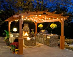 outdoor pergola lighting ideas. Diy:Outside Patio Lighting Gazebos And Pergolas With Outdoor Kitchen Pergola Canopies Led Exterior Ideas N