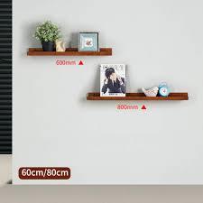Meiduo Massivholzregal Floating Regale Für Wohnzimmer Tv Wand