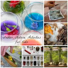 indoor activities for kids. Indoor Nature Activities For Kids