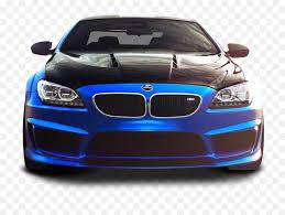 bmw m6 blue car png image for
