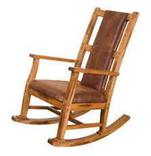 Sunny Designs 1415ro Sunny Designs Sedona Rocker With Cushion Seat And Back In Rustic Oak Finish New