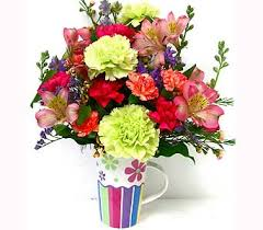 ff112 flower power spring bouquet in oklahoma city ok array of