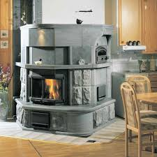 efficient heating with a soapstone fireplace