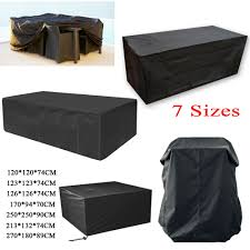details about garden patio furniture set lounger cover waterproof rattan cube table outdoor uk