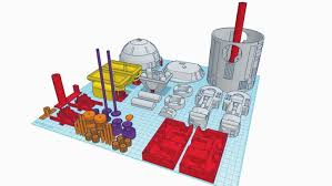 tinkercad ideas. image of the coolest tinkercad ideas / designs projects: r2d2 with electronics all3dp