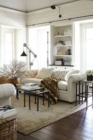 industrial style living room furniture. Interesting Farmhouse Style Living Room Furniture Industrial Plans White Tufted Backseat Couch