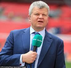 adrian chiles has been replaced as itv s lead football host