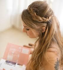 Image Coiffure Cheveux Mi Long Demoiselle Dhonneur Coupe De