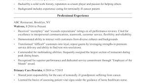 Cna Resume Sample With Experience Resume Template Resume Example ...