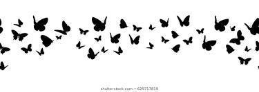 蝶 シルエットのベクター画像素材画像ベクターアート Shutterstock