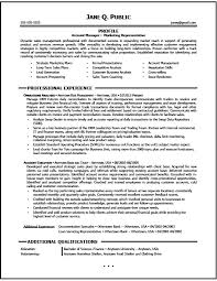 Gallery Of Marketing Account Manager Resume Sample Marketing Resume