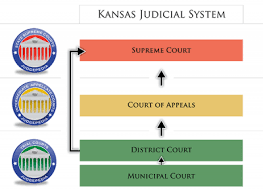 United States Court System Flow Chart Courts In Kansas Ballotpedia