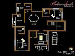 floor plan kerala style house
