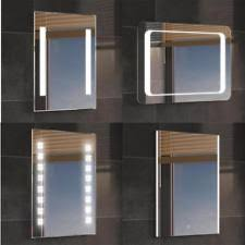 mirrored lighting. Luxury Backlit Slimline Illuminated Bathroom Mirrors With Light Sensor Switch Mirrored Lighting E