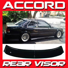 JDM 1990-1993 Honda Accord Coupe CB7 Rear Roof Window Visor Sun ...