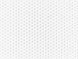 3d Graph Paper IsometricGridPaperDrawings grid Pinterest Isometric grid 1