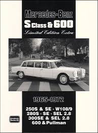 It drives like a dream. Mercedes Book Brooklands Portfolio W108 W109 600 S Class 280sel Ebay