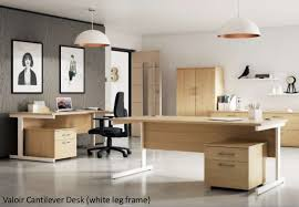 design my office. Valoir Cantilever Desk (white Leg Frame) Design My Office