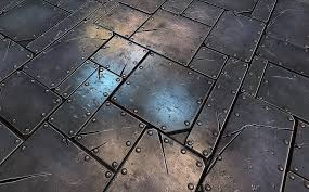 metal floor tiles. Plain Metal On Metal Floor Tiles