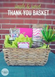 create a simple sweet thank you gift perfect for teachers dog sitters