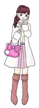 あなたはどのタイプ大石蘭のスイーツ女子図鑑から見つかる理想の