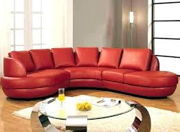 red leather sectional sleeper sofa best home ideas furniture stunning
