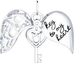 <b>Кулоны</b>, <b>подвески</b>, <b>медальоны SOKOLOV</b> 94031748_s | Key to my ...