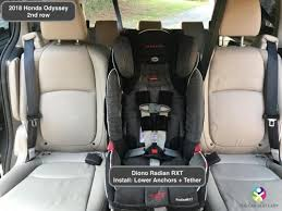 the car seat ladyhonda odyssey 2018