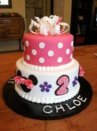 image of minnie mouse birthday cake ideas