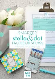 Smarter Stella & Dot Facebook Shows | Hello Nutritarian