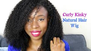 Natural Hair Style Wigs how to blend my natural hair to kinky curly weavewig 4c hair 4778 by stevesalt.us