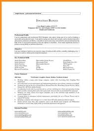 7+ sample of resume profile | azzurra castle grenada