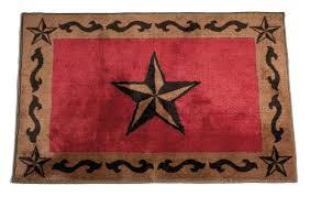 lone star red rug 2 round texas cowhide rugs round star cowhide rugs patchwork rug white rustic texas