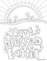 Skillful Ideas Free Coloring Pages For Easter Religious Kids