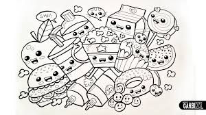 Drawing Cute Food Easy And Kawaii Graffiti By Garbi Kw Draw This