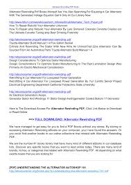 alternator rewinding pdf ebookscenter org pages 1 6 text alternator rewinding pdf ebookscenter org pages 1 6 text version anyflip