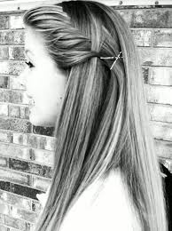 pretty long straight hairstyle