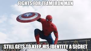 fights for team iron man still gets to keep his identity a secret image tagged