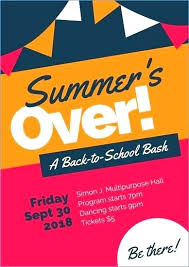 Back To School Invitation Template Back To School Flyer Template Invitation Free Templates Cassifields Co