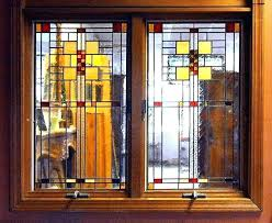 stained glass window inserts stained glass window inserts single and double casement windows faux stained glass stained glass window