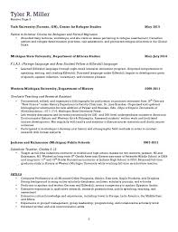 ... provide continued assistance; 2. Tyler R. Miller Resume Page 2 2 York  University ...