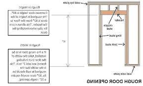 pocket door rough opening rough opening door door and frame steel front door and frame awesome pocket door rough