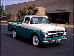 1957 Mercury 100 Pickup 223/139 HP, 3-Speed | CLASSIC CARS | Pickup ...