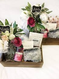 ok so first and foremost i m all about useful gifts and that really guided the choice to do a diy bridesmaid box gift and the contents within